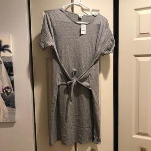 NWT Jcrew front tie dress size s